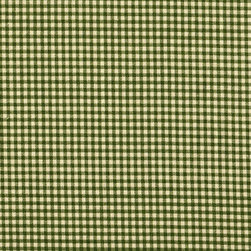 """Close to Custom Linens - 84"""" Shower Curtain Sage Green Gingham Check - Soap? Check. Shampoo? Check. Handsome, subtle and totally sophisticated shower curtain? Check. This simple gingham check shower curtain is the perfect foil for any of your tile and towel patterns."""