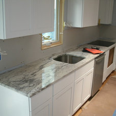Traditional Kitchen by Granite Works Countertops