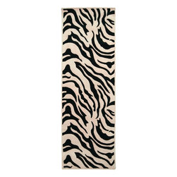 Surya - Surya Goa Animal Hand Tufted Wool Rug X-862-95G - With an array of unique designs, Goa characterizes all you will ever want in a beautiful rug. These fashion-forward rugs utilize a color palette that follows effortlessly with today's hottest furniture styles. Designs range from peaceful floral to exciting contemporary themes. This collection is sure to become an essential piece in any home that desires a higher sense of style and fashion.