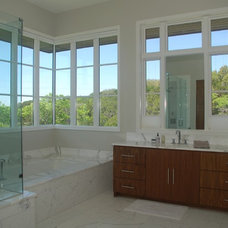 Modern Vanity Tops And Side Splashes by Artisan Group Stone and Wood Countertops