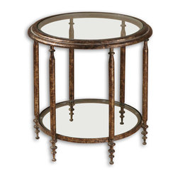 Uttermost - Uttermost 26011 Leilani Round Accent Table - Uttermost 26011 Leilani Round Accent Table