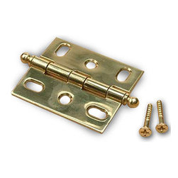 Century Hardware - Solid Brass - Cabinet Hinge - Polished Brass (CENT72042-3) - Solid Brass - Cabinet Hinge - Polished Brass (CENT72042-3)