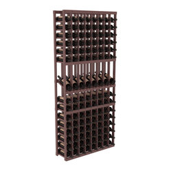 8-Column Display Row Wine Cellar Kit in Pine