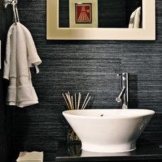 Contemporary Bathroom by Nicole White Designs Inc