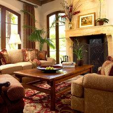 Mediterranean Living Room by Maraya Interior Design