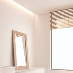 Medicine Cabinet Options from Electric Mirror - The Luminous Mirrored Cabinet provides integrated natural white illumination within an ultra-sleek subtle design for a modern and contemplative look.