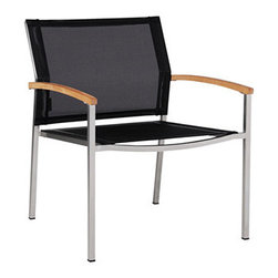 Mazzamiz Stainless Steel Casual Chair (new) - About the Mazzamiz Stainless Steel Collection: