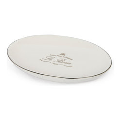 Kassatex - Kassatex Le Bain Collection Soap Dish - Good. Clean. Fun. There's nothing about this vision of Paris that requires censorship. This soap dish is simply beautiful.