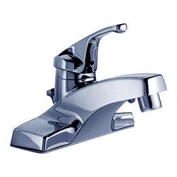 American Standard - Colony Single Handle Centerset Bathroom Faucet with Metal Drain - American Standard 2175.202.002 Colony Single Handle Centerset Bathroom Faucet with Metal Drain in Polished Chrome.
