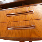 Mid Century Teak Desk Floating Top Design by G Plan - RetroPassion21