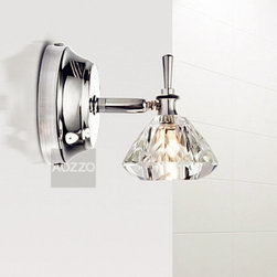 Wholesale Single Lights Wall Mirror Lamps - Weight:2.8 KGram