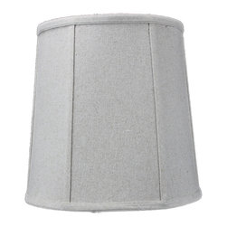 Home Concept - Sand Linen Fabric Empire Shantung Drum Deluxe lamp shade 10x12x12 - Celebrate Your Home - Home Concept invites you to welcome your guests with our array of lampshade styles that will instantly upgrade your space