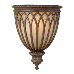 Murray Feiss - 1 Bulb British Bronze Wall - - UL Approved.