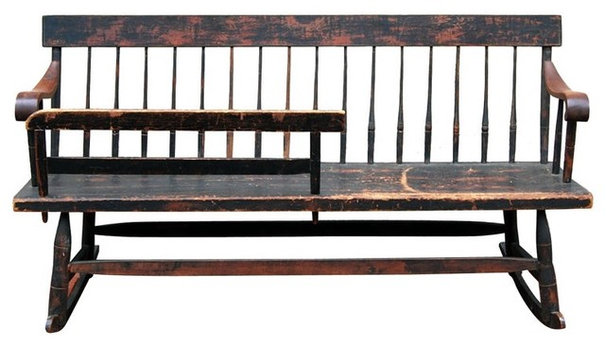 Traditional Indoor Benches by EcoFirstArt