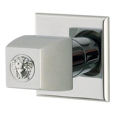 Versace - Versace Unique Chrome Single Faucet Knob - Versace Single Faucet Knob
