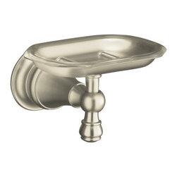 KOHLER - KOHLER K-16142-BN Revival Soap Dish - KOHLER K-16142-BN Revival Soap Dish in Brushed Nickel