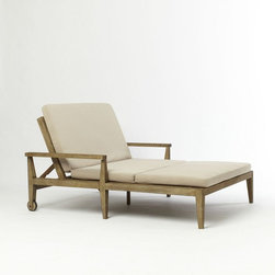 Jardine Double Lounger - This double lounger is for soaking up the sun with a sweetie.
