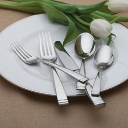 Waterford 154520 Conover 65 Piece Flatware Set - With its classic stem pattern and weighty stainless steel construction, the Waterford 154520 Conover 65 Piece Flatware Set brings elegance home for dinner. This set provides all the flatware and serving pieces needed for a dinner party - perfect for 12 guests. Not just luxurious, this comprehensive 65-piece place setting is well-crafted and dishwasher-safe, too.Set Includes:12 butter knives12 dinner forks12 salad forks12 soup spoons12 teaspoonsServing forkServing spoonSlotted serving spoonButter knifeSugar spoonAbout WaterfordWaterford is the world's most coveted name in crystal. Rich in history, this company was founded in 1783 by William and George Penrose in the heart of the Irish harbor town of Waterford. Throughout the generations, they have become known worldwide for creating crystal and glass drinkware, crystal gifts, and home accessories of unsurpassed beauty and quality. From the Waterford Lismore, the most famous Waterford pattern, to innovative contemporary patterns, Waterford items are instant heirloom pieces everyone will treasure.
