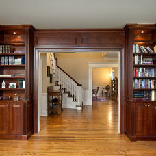 Traditional Home Office by Georgio Home