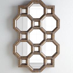 Carrara Honeycomb Mirror -