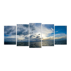 """READY2HANGART.COM - Ready2hangart Chris Doherty 5-PC Canvas Wall Art Set - Renowned photographer Chris Doherty, takes you on adventures under and above water through his imagery. This photograph is offered as part of a limited """"Home Decor"""" line, being the perfect addition to any living or work space."""