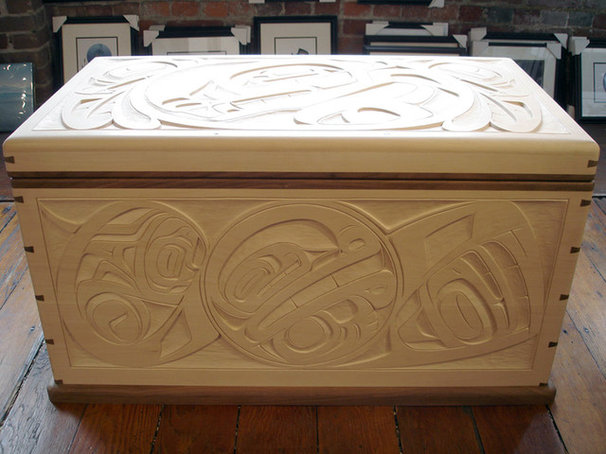 Contemporary Accent Chests And Cabinets by Hill's Native Art