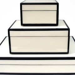modern storage boxes by lillie