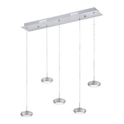 Eurofase Lighting - Eurofase Lighting 25669 Venti 5 Light Modern LED Linear Pendant - Features: