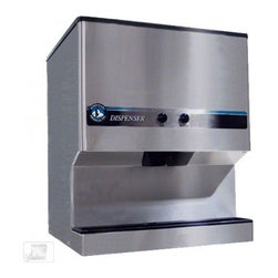 Hoshizaki - DM-200B 200 lb Countertop Ice and Water Dispenser - The 200 lb Countertop Ice and Water Dispenser DM-200B is a medium-sized countertop ice dispenser from Hoshizaki that can accommodate an ice machine or be manually filled It features an attractive and exceptionally durable stainless steel exterior and...