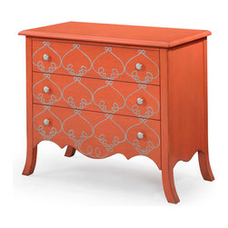 Bassett Mirror - Bassett Mirror L'Orangerie Accent Chest - L'Orangerie Accent Chest