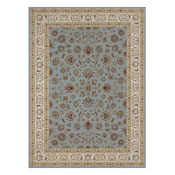 Loloi Rugs - Loloi Rugs Welbourne Blue-Ivory Traditional Border Rug X-7782VIBB40-LWBLEW - The Welbourne Collection features a more traditional design with up-to-date colors and styles. Most notably, its densely woven construction contributes to the superior quality of this new power-loomed collection. There is a variety of sizes and color combinations available.