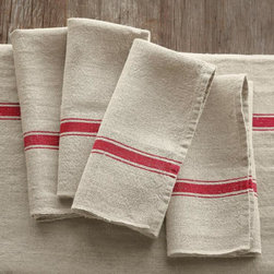 Provence Napkins, Red -