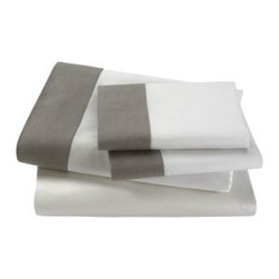 Linen Edge Sheet Set by DwellStudio -