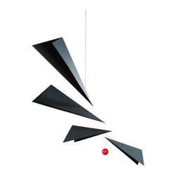 Flensted Mobiles Wings - This mobile looks just like paper airplanes and would be perfect for any aviation buff.