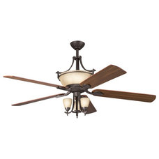 Transitional Ceiling Fans by Arcadian Home & Lighting