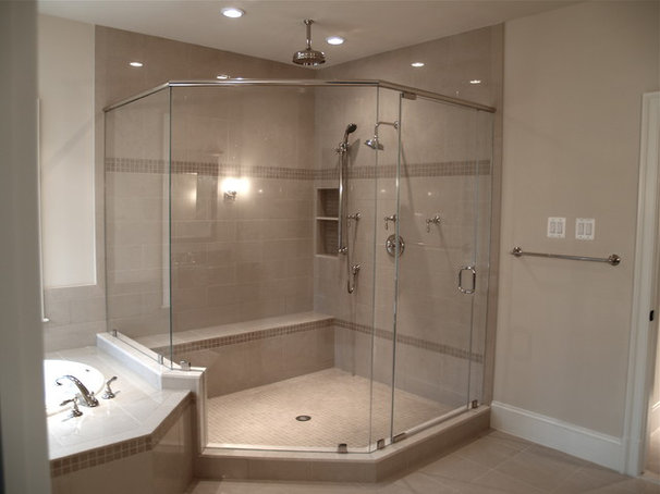 Modern Shower Doors by Showroom Partners