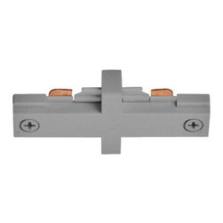 Juno Lighting - Juno T23 Trac-Master One-Circuit Miniature Straight Connector, T23sl - Miniature Straight Connector. Joins two trac sections end to end.