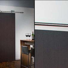 Modern  modern heavy duty stainless steel sliding door system for wood door
