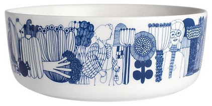 modern bowls by Crate&Barrel