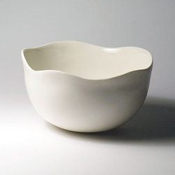 Deep Dip Bowl by Rou Designs - I'm a sucker for handmade porcelain bowls. Even though this one may be meant to hold food, I think it would be ideal for storing hair clips, elastics, etc.