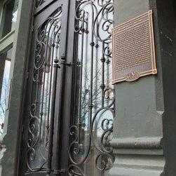 Cornerstone Lofts Historical Remodel Entry Door - Cornerstone Lofts finished door (Historical)