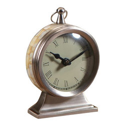 Zodax - Moana Table Clock - Small by Zodax - Moana Table Clock - Small by Zodax