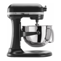 KitchenAid - KitchenAid RKP26M1XLC Licorice 6-quart Pro 600 Bowl-Lift Stand Mixer (Refurbishe - Equipped with a high-performance, professional-level motor, this Professional 600 Series mixer from KitchenAid features soft start mixing and 10 mixing speeds. This mixer is equipped with a 6-quart stainless steel mixing bowl with a handle.