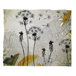 DENY Designs - Iveta Abolina Little Dandelion Fleece Throw Blanket - This DENY fleece throw blanket may be the softest blanket ever! And we're not being overly dramatic here. In addition to being incredibly snuggly with it's plush fleece material, it's maching washable with no image fading. Plus, it comes in three different sizes: 80x60 (big enough for two), 60x50 (the fan favorite) and the 40x30. With all of these great features, we've found the perfect fleece blanket and an original gift! Full color front with white back. Custom printed in the USA for every order.