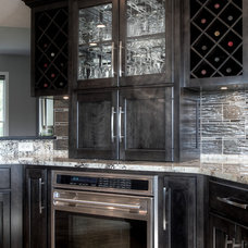 Transitional Kitchen by Martin Bros. Contracting, Inc.