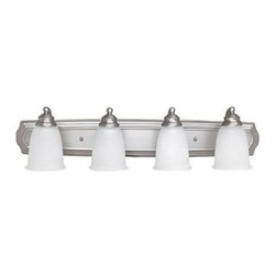 Capital Lighting - Capital Lighting 1014-132 4 Light Vanity Fixture - Capital Lighting 4 Light Vanity Fixture