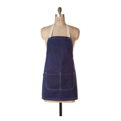 Patriot Waxed Mini Bib Apron