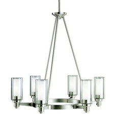 Chandeliers Circolo 6-Light Oval Chandelier by Kichler