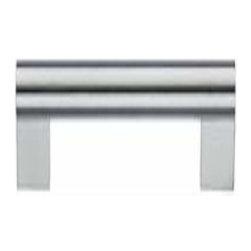 Smedbo - Smedbo Stainless Steel Pull, 5 1/8 Inch X 6 3/8 Inch - Smedbo Stainless Steel Pull, 5 1/8 Inch X 6 3/8 Inch