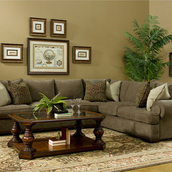 Made To Order Regency Sectional -